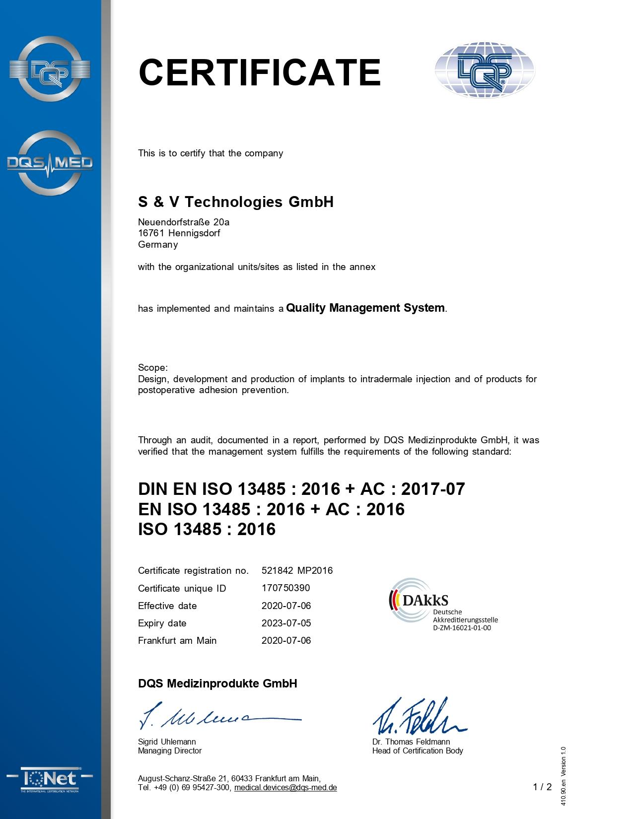 certyfikat zarządzania jakością eng